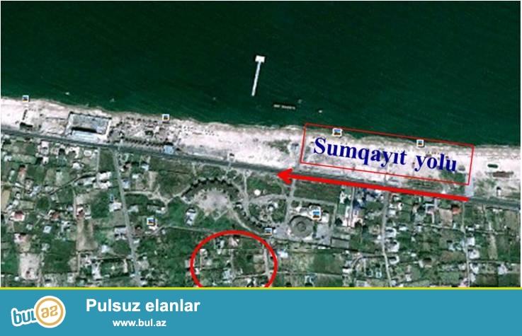 Novxanıda dənizdən 300 m aralı 12 sot. bag sahəsi (sanatoriyanın arxası), özəlləşdirilib, kupçası var...