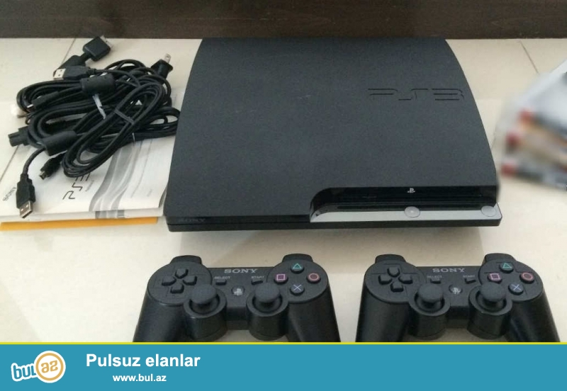 Playstation 3 (PS3) prosivkali ,orginal mehsuldur. United Kingdom ve Amerikadan gelir...