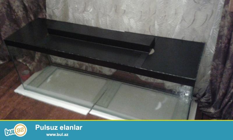 akvarium təzədir 10mm lik sınmayan şüşədəndir ...