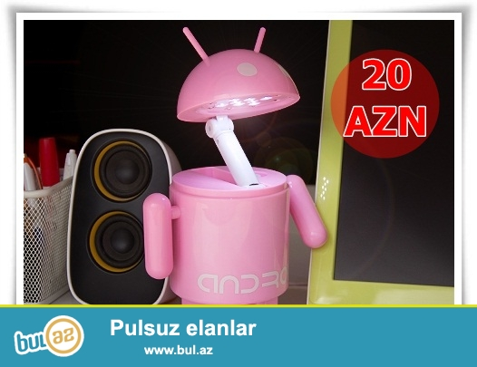 Android lampa-İNDİ 20 AZN