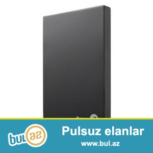 Satilir: Seagate harddisk 1 TB yaddasli ve xususi koburasi ile<br />