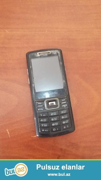SAMSUNG Duos C 5212 telefonu yaxwi veziyyetde hec bir prablemi yoxdur 2kartlidir...