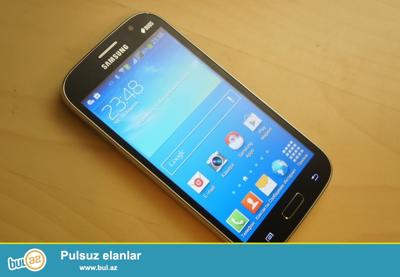 hec bir problemi yoxdur bir ayin telefonudu android 8GB yaddas her weyi var