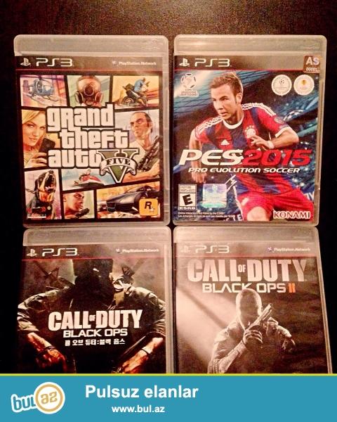 Orginal Playstation 3 diskləri satılır. Disklər tam Orginaldır...