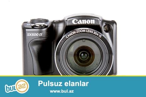 Canon sx 500. 16 mpx .30 zoom. 4 gb yaddaş kartı və zaryadka aparatı ilə birgə verəcəm...