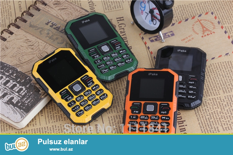 Yeni 2015 Şok və Sukeçirməyən Ultra nazik iPake Q8 Mini Mobil Telefon<br /> Specification:<br /> Brand iPake<br /> Görünüş növü Straight<br /> Ölçü 9...