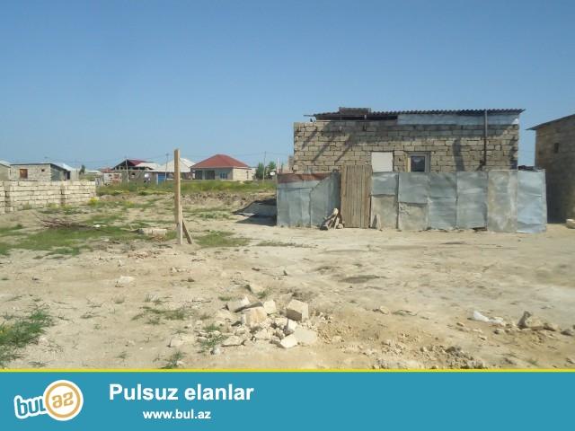 Sabunçu rayonu Maştağa qəsəbəsi Xanlar yaşayış massivində, əsas yoldan 300 m məsafədə,   3sotun içində 2 otaqlı ev satılır...