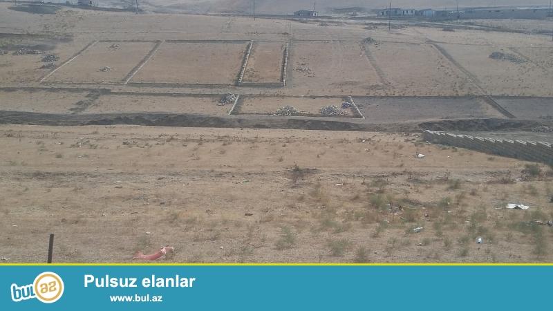 Baki seheri Abseron rayonun Qobu qesebesinde yola yaxin 8 sot torpaq satilir qiymeti 1200 manat Qaza  suya isiga yaxin