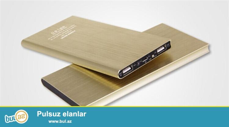 Yenk Ultranazik 12000mah Elave batareya butun model telefonlar üçün<br /> <br /> TELEFONLAR ÜÇÜN ƏLAVƏ BATAREYA<br /> <br /> 1...
