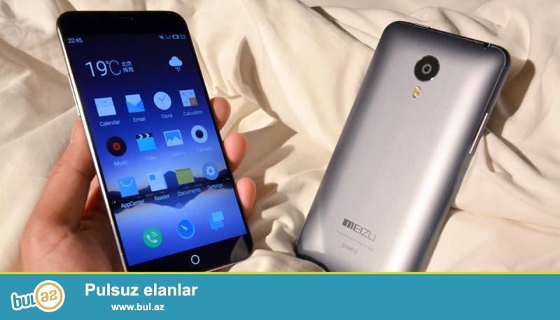 Teze Meizu MX4 32GB Gray satilir. ekran qoruyucu plyonka hediyye olunur<br /> <br /> esas kamera :20...