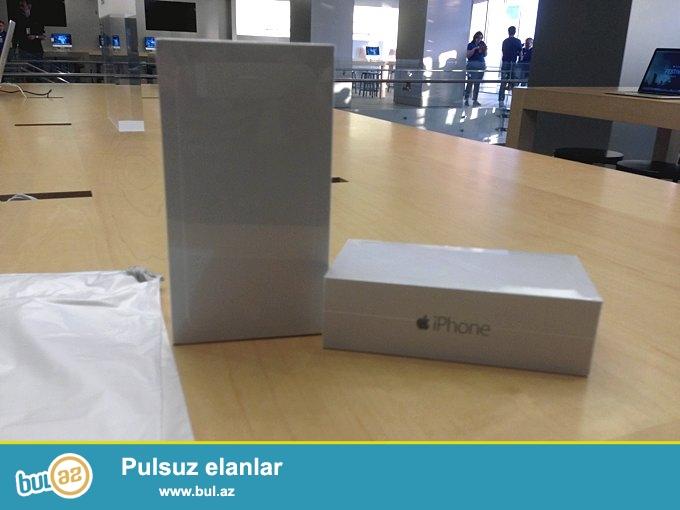 iPhone 6 yeni karopkasi acilmayib 16G arginal bir edetdi hediye olunduquna gore satilir