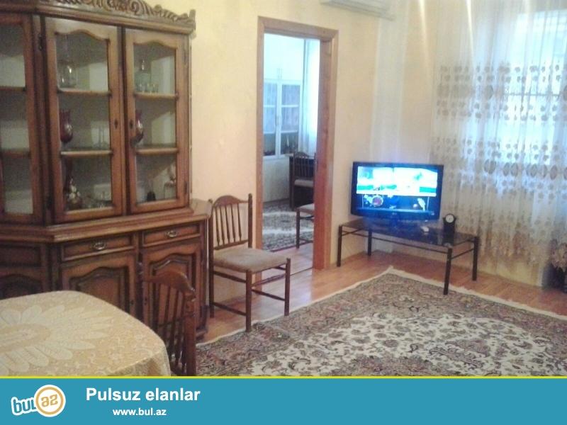 Cдается 3-х комнатная квартира в центре города, по улице Низами, рядом с садиком С...