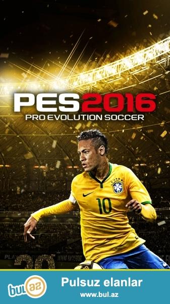İstifade olunmamiş Pes 2016. Playstation 3 üçündür...