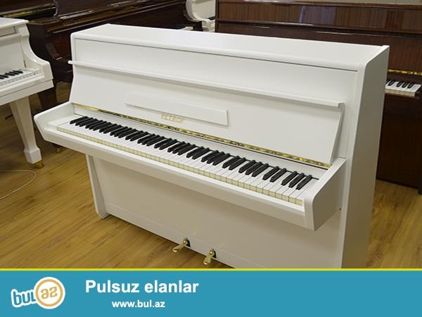 PETROF pianinosu - yenidir, ideal mexanikaya ve görüntüye malikdir...