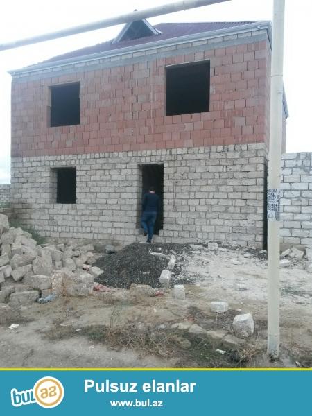 Sabunçu rayonu, Ramana savxozunda, dispeçer deyilən ərazidən 500 metr məsafədə 2 sot torpaq sahəsində iki mərtəbəli ev satılır...