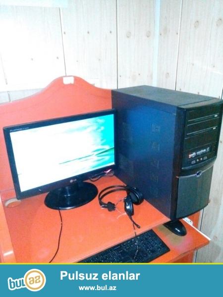 14 ədəd internet konputerləri satılır.<br /> <br /> 9- ədəd  LG 19 ekran monitor...
