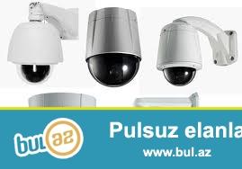 Analoq ve IP kameralar.<br /> Satisi ve montaj edilmesi...