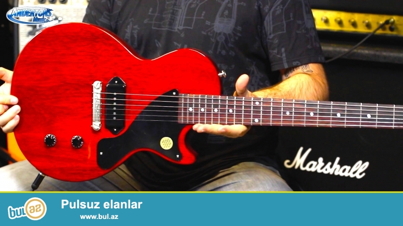 Gibson LP Junior Single Cut HC<br />\r\nDuyada en cox elektro gitara satisi ile mehsur Gibson firmasina mexsus Les Paul Junior Single modeli<br />\r\nH...