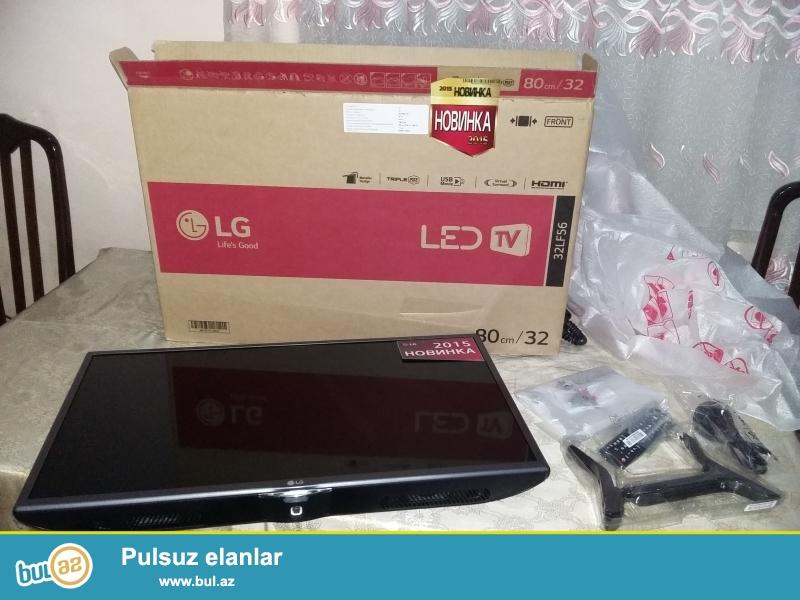 "LG 32LF560U 32""(81sm) LED HD Ready<br /> Diaqonal -32""(81 sm)<br /> Ekranin formati-16:9<br /> Genişlenme-1366x768<br /> HD desteleme-720p HD<br /> Direct LED işıqlandırma<br /> Yenilenme tezliyi -50Hz<br /> Proqresiv açılma<br /> Televiziya standartlarını destekleme<br /> DVB-T MPEG4 desteklenme<br /> DVB-T2 desteklenme<br /> DVB-C MPEG4 desteklenme<br /> DVB -S2 desteklenme<br /> Telemətn 1000 seh..."
