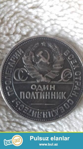 1925-ci ilin gümüşü qəpiyi, 90 illiydir. qiymətdə razılaşmağ olar.