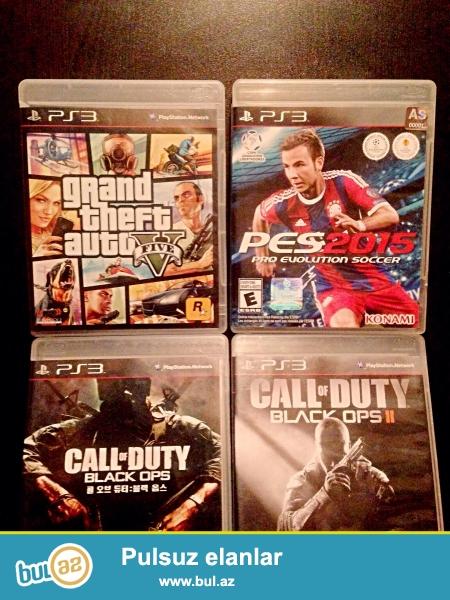 4 ədəd Playstation (Ps3) diskləri satılır. Disklər tam Orginaldır...