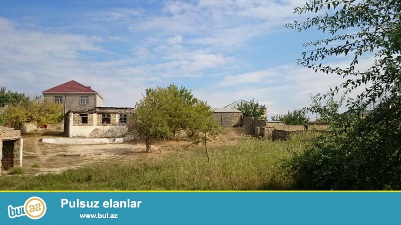 Очень срочно! Продается земельный участок 25 сот в поселке Новханы, рядом с морем...