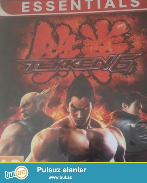 Oyun diskleri playstation 3 ucun teze ela veziyyetde orjinal muxtelif oyunlar, Tekken 6, Ps 2014, Sniper Elite, Carbon, ve s...