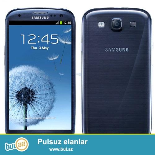 Satilir Samsung Galaxy S3 16gb. IRsad Telekomnan Alinib...