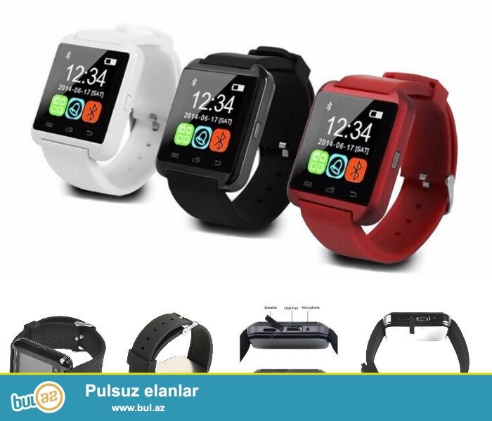 Yeni Bluetooth Saatlar Mobil telefonla əlaqəli satışda www...