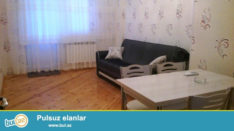 Новостройка! Впервые! После ремонта никто не жил! Вся мебель новая! Cдается 2-х комнатная квартира, в Ясамальском районе, в поселке Ени Ясамал, рядом с «Бизим» маркетом...