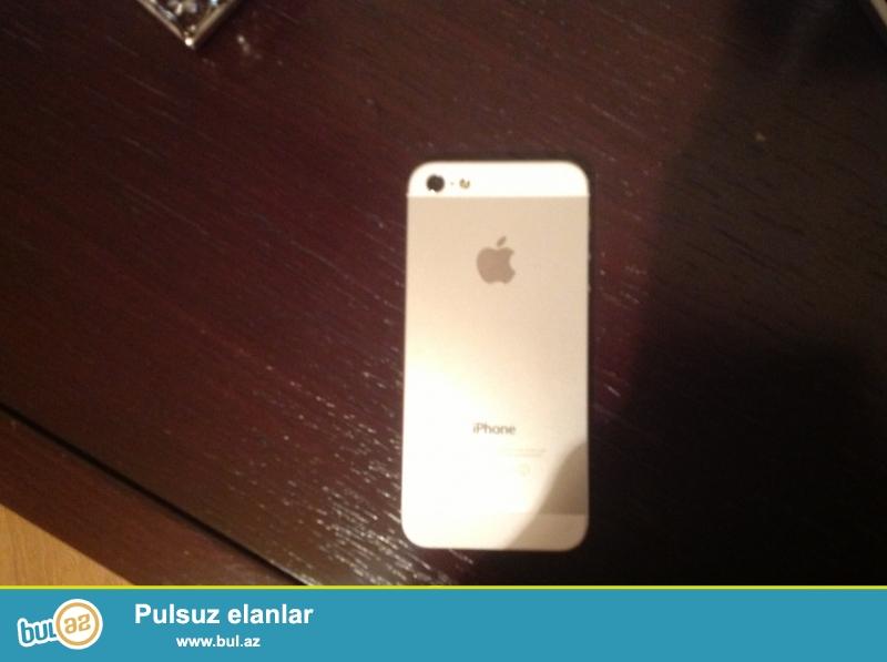 iPhone 5s gold 16gb ideal vezyetdedi.barter olunmur...