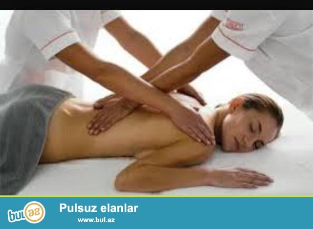 Evro club. Yalniz beyleri umumi.klassik.kosmetik massajlara devet edir. Massaj qan dovranini guclendirir...