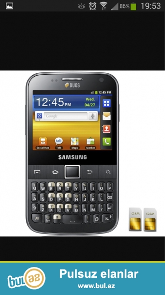 Telefon tecili satilir androitdir 2 nomrelidir qiymet sondur 055 682 43 55