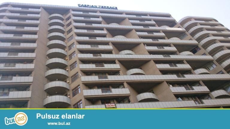 """Новостройка! Cдается 3-х комнатная квартира в центре города, в Ясамальском районе, в престижном здании « """"Caspian Terrace» по улице К..."""