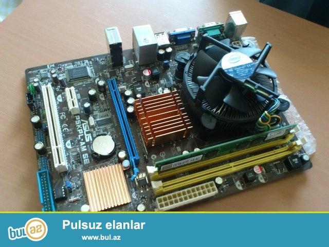 P5KPL-AM DDR2 plata satiram saz veziyyetdedir ustunde kullerde verilir ...
