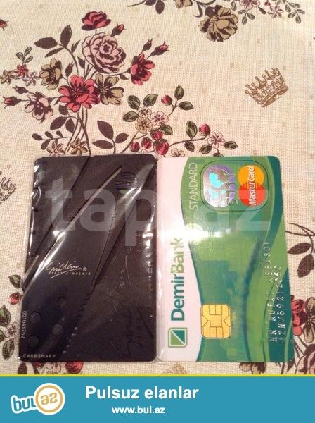Bicaq plastik kart boyda <br /> Нож кредитка