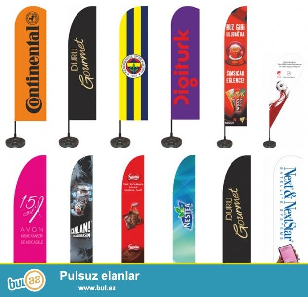 Turkiye mehsulu olan Yol Kenari Reklam Bayragi.Uzerine istenilen çap olunur.