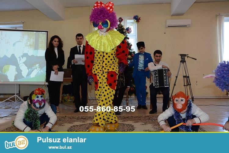 Azerbaycanda surpriz-klounlar teqdim edir.bakida ve rayonlara sifaris qebul olnur...