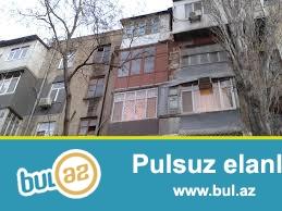 Bakı şəhəri Nəsimi rayonunda 2-ci mk\r-da 5 mərtəbəli binanın 1 ci mərtəbəsimdə 2 otaqlı mənzil satılır...