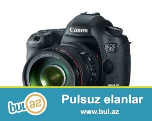 yeni karobkanin icinde<br /> Lens 24-105mm<br /> İstehsalçıCanon<br /> Meqapiksel22...