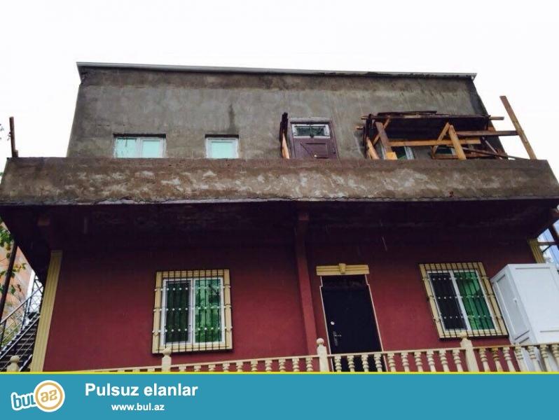 В районе ИНЯЗ, итальянский проект, каменный дом, общая площадь 70 кв...