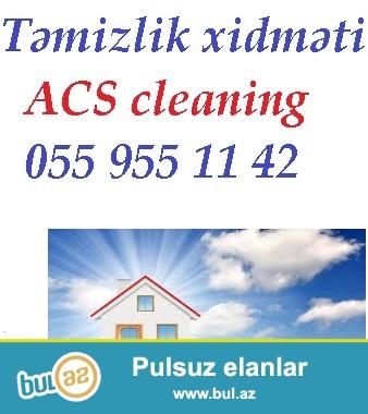 Ev ve ya ofislerin temizlenmesi 055 955 11 42<br /> <br /> Ev ve ya ofislerin temizlenmesi ucun bizim sirketimize muraciet edin...
