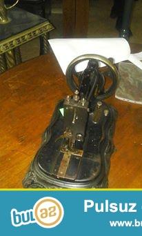 Clemens Muller 1888 ci il istehsali (antikvar) tikiw masini satilir...