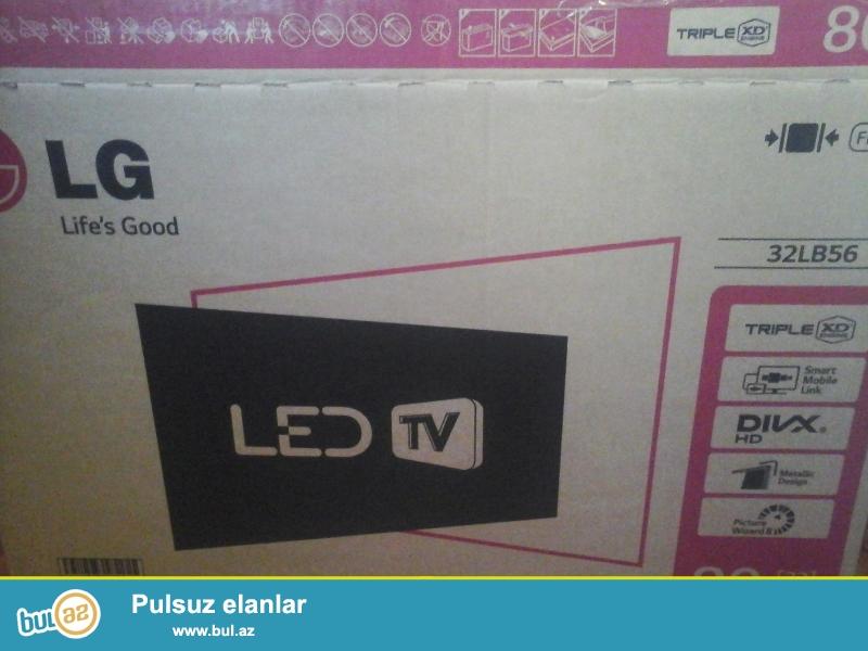 Təzə pakovkada qarantiası üsdündə LG lED 82 diaqanal plazma televizr satıram...