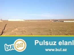 Sabunçu Rayonu Maştağa qəsəbəsində Olimpiya  kompleksinin arxasında yola az məsafədə 5 sot torpaq sahəsi satılır...