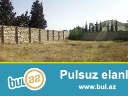 Sabunçu Rayonu Savalan qəsəbəsində daş bazarının arxasında yarı hasara alınmış 10 sot sənədli kupçalı torpaq sahəsi satılır...
