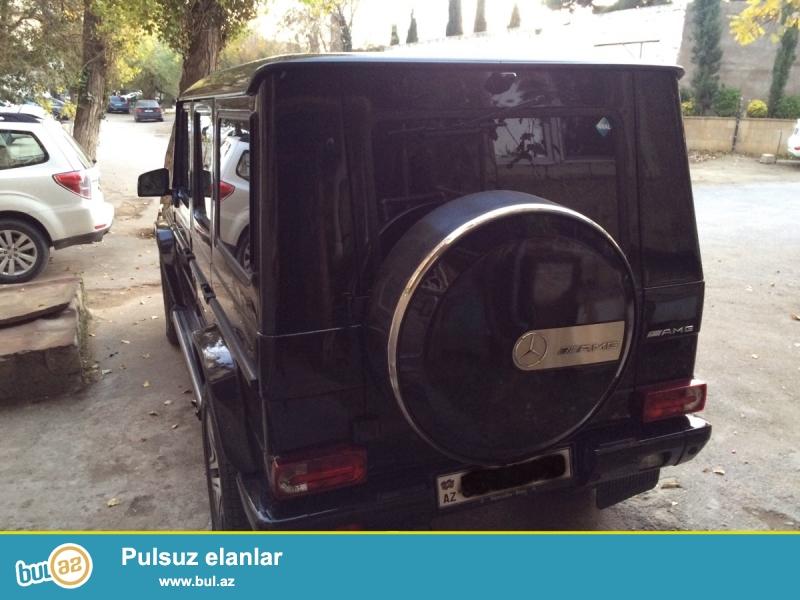 Mercedes G 55 AMG 2002 ci il, 5 mator, bezkraska, ter-temiz mawindi. Qara koji salon, tecili satilir...
