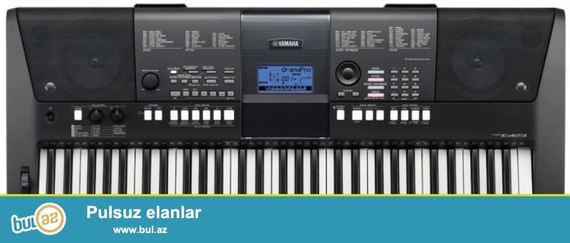 Yamaha firmasina mexsus e423 modeli<br /> <br /> Yenilikci ve usutun 700 real ses ve arpej ozelliklerina sahip 61 eded duymeli klavye...