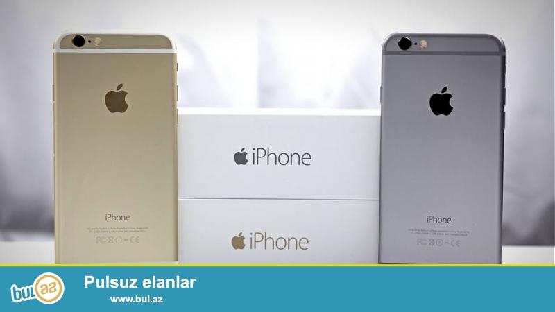 Iphone 6 16GB Dubay versiyasi. <br /> 1:1 kopyadir, demir korpus, qutuda ve aksessuarlari ile birlekde...