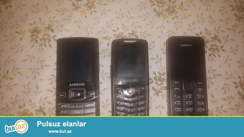 3 ededdi  telfon hecbir  prablemleri yoxdu  adapdirlari  var  qiymetinde  razilasmaq  olar